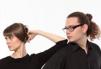 Мужские стильные стрижки для вьющихся волос