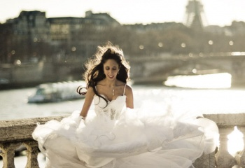 Свадьба в Париже: фото и видео процесса, сценарий 19