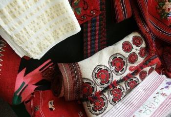 Льняные платья в этно-стиле