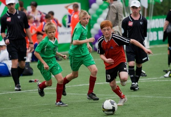 Дети и футбол
