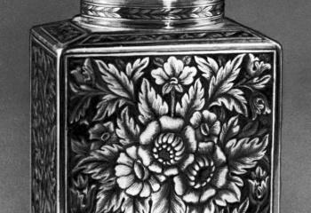 Русские ювелирные традиции: чернение по серебру