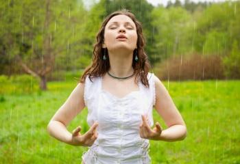 Выработка правильного дыхания при занятии йогой