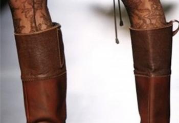 Сапоги с широким голенищем: модно и комфортно