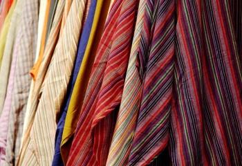 Габдероб для невысоких: ткани