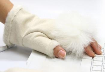 Модные перчатки зимы 2012