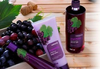 Масло виноградных косточек для лица и тела