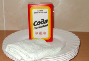 Сода, лимон и уксус вместо чистящих средств