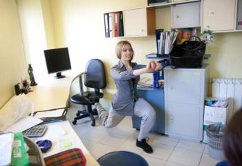 Гимнастика и разминка в офисе