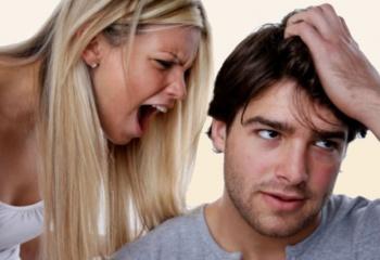 Как не стоит вести себя с парнем
