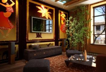 Интерьер в африканском стиле - экзотично и практично