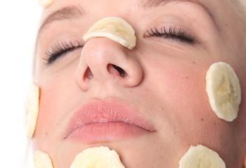 Маски для лица из яблок и бананов