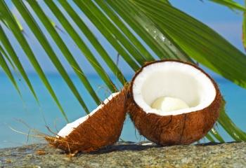 Кокосовое масло: маски для волос