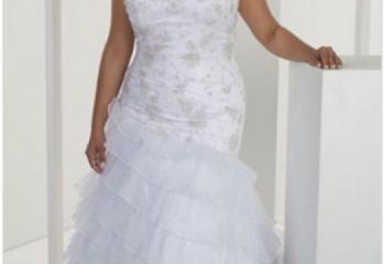 091c30f6c802bc6 Как выбрать свадебное платье женщинам с полной фигурой :: JustLady ...