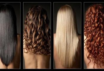 Цвет волос по цветотипу