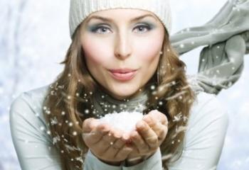 Защищаем лицо и губы от мороза