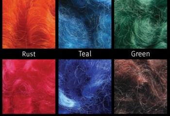 Как покрасить шерсть для валяния