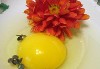 Маски из яиц
