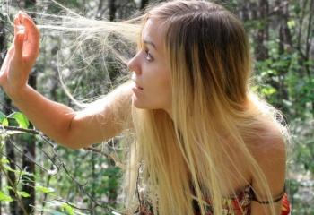 Природный блеск волос