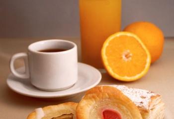 Романтичный завтрак в постель
