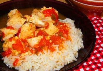 Курица по-мексикански с рисом