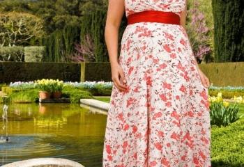 Как правильно одеваться полной женщине