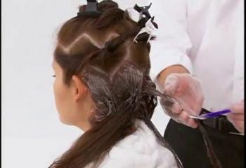 Окрашивание волос: краска без перекиси