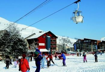 Обзор горнолыжных курортов Франции