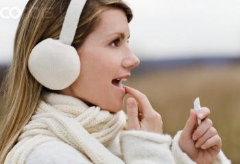 Защита и увлажнение губ в холодное время года