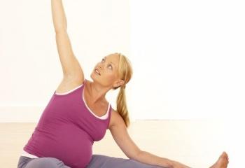 Спортивные тренировки во время беременности