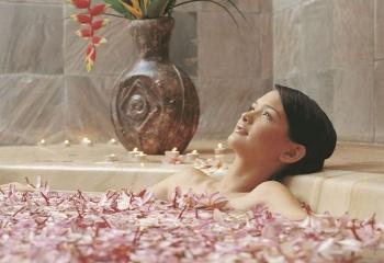 Травяные ванны для похудения