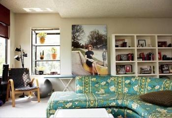 Стиль винтаж в интерьере гостиной