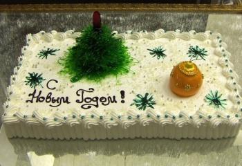 Рецепты новогодных тортов