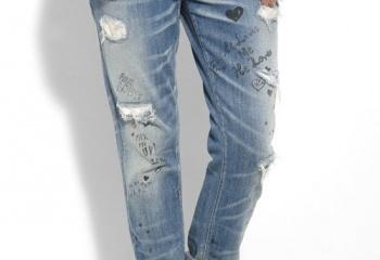 Как носить джинсы бойфренда