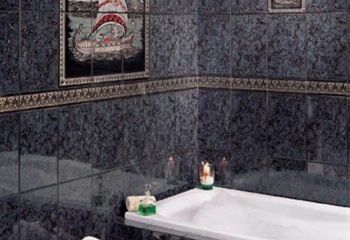 Как отмыть кафель в ванной