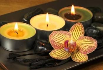 Ароматные свечи - атмосфера праздника