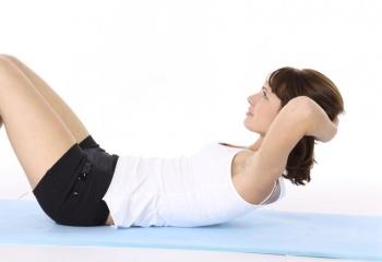 Зарядка для укрепления мышц живота