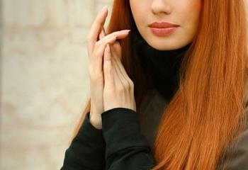 Как окрасить рыжие волосы