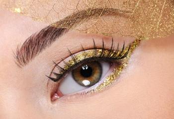 Золотые россыпи: макияж всеми оттенками золота