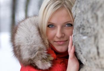 Красивые и здоровые волосы зимой