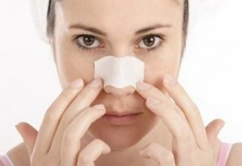 Как убрать прыщи на носу