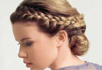 Греческая коса: почувствуйте себя богиней