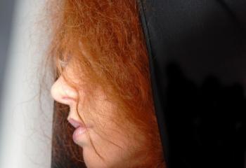 Как перекрасить рыжие волосы