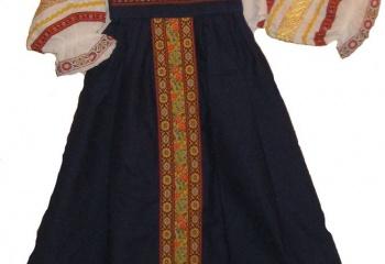Как сшить русские народные сарафаны