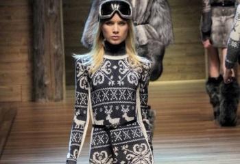 Зимняя одежда в скандинавском стиле