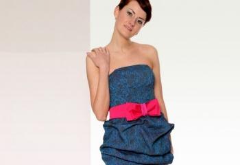 Как сшить платье-бюстье