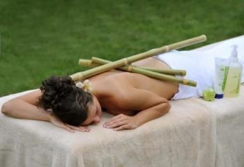 Креольский массаж бамбуковыми палочками: техника выполнения