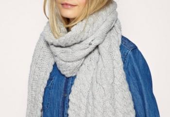 Как носить шарф стильно