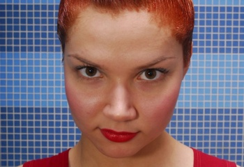 Как быстро смыть тоник с волос рыжий