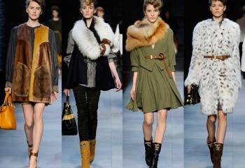 Меховые детали гардероба – модно и актуально