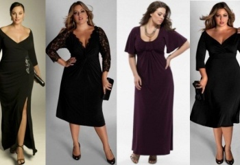 Платье для полной фигуры